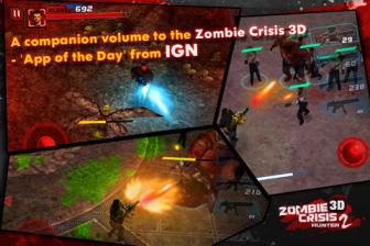 Zombie crisis 3D Les bons plans de l'App Store ce vendredi 29 juillet 2011