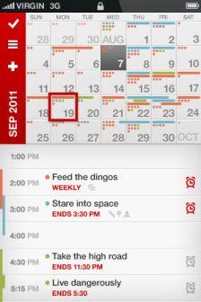 calvetica calendar [MÀJ] Les bons plans de lApp Store ce samedi 30 juillet 2011