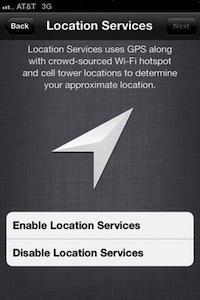 iOS 5 béta 3 localisation Les toutes premières nouveautés de liOS 5 bêta 3