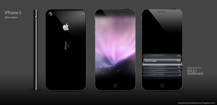 iPhone 5 concept Un nouveau concept diPhone 5 encore plus fin, avec écran 4,6 pouces