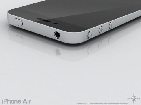 iPhone Air 02 Concept : Quand le Macbook Air rencontre liPhone... Voici liPhone Air !