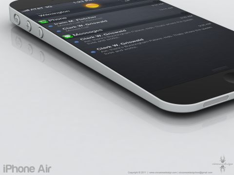 iPhone Air 03 Concept : Quand le Macbook Air rencontre liPhone... Voici liPhone Air !