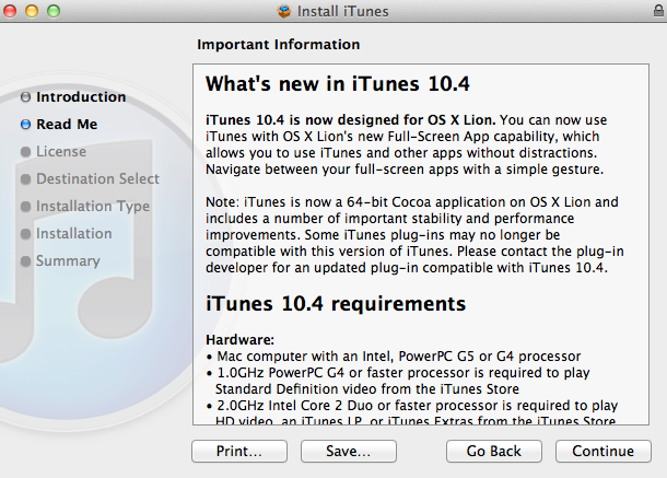 iTunes 10.4 iTunes 10.4 est disponible