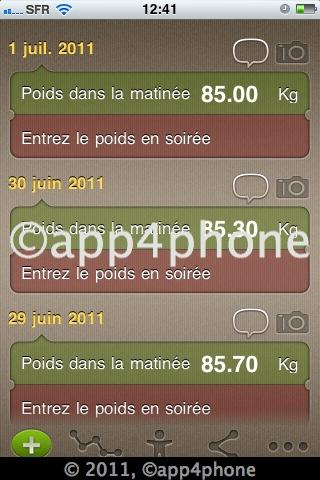 [Màj] 9 codes à gagner de WeightMeter, une belle application pour perdre du poids (0,79€)