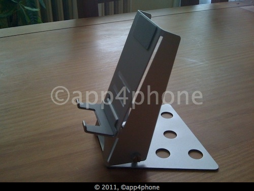 Test de lAluPose DIY Aluminium Stand   Un support intelligent pour iPad (11€)
