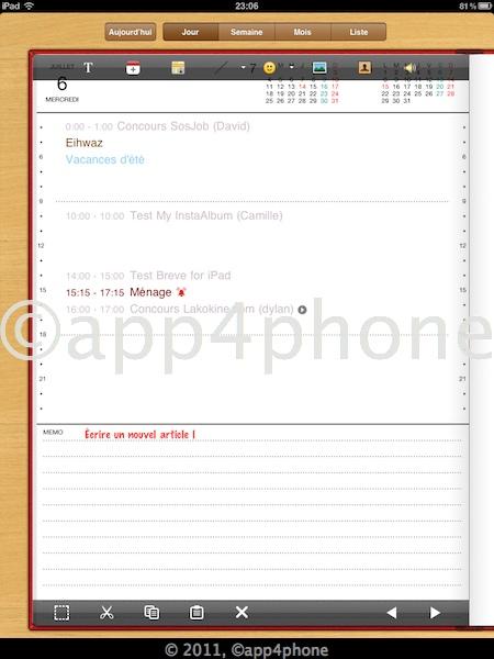 [Màj] 10 codes à gagner de Agenda et Agenda HD   Un calendrier synchronisé avec google cal (5,99€)
