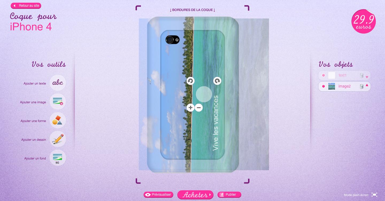 module [Màj] Concours + code promo : 1 coque iPhone personnalisée à gagner avec Lakokine.com