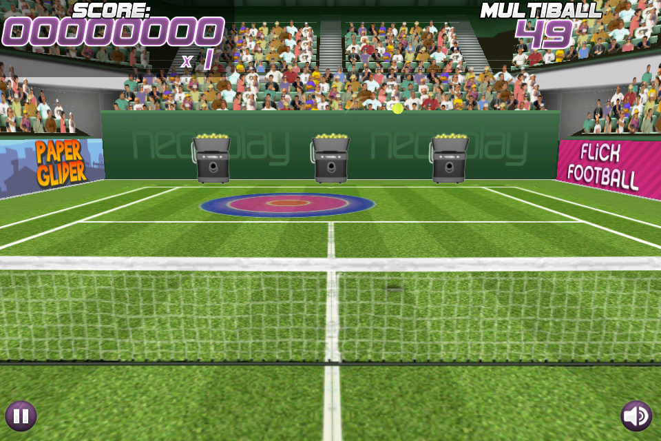 pro multiball [Test] Pro Tennis Volley   Un jeu de tennis darcade divertissant (0,79€)