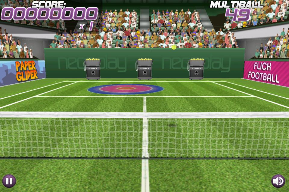 pro multiball [Test] Pro Tennis Volley   Un jeu de tennis darcade divertissant (0,79€)