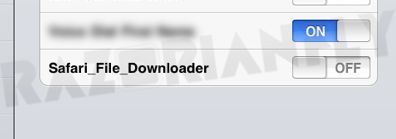 safari download manager1 iOS5 : Des extensions pour Safari dans la version finale ?