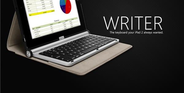 y5JXCj1 Concours : Un Adonit Writer pour iPad 2 à gagner   Une pochette clavier rudement pratique pour iPad (69€)