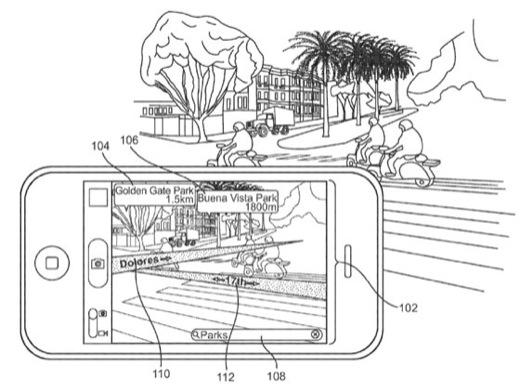 64513 930 brevet de la realite augmentee dans les plans Apple : Un brevet pour la réalité augmentée dans les plans