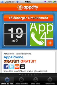 Accueil AppCity AppCity [gratuit] : une application découverte tous les jours !