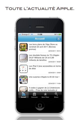 App4phone Les bons plans de lApp Store ce dimanche 14 août 2011 (bonnes Apps)