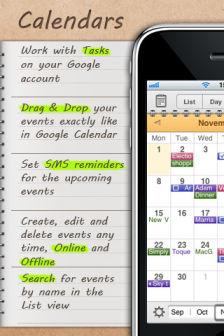 Calendars [MÀJ] Les bons plans de lApp Store ce lundi 1er août 2011