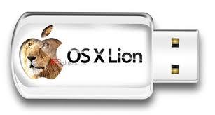 Clé USB Mac OS X Lion1 Mac OSX Lion passe en Version 10.7.1 et se vend sur clé USB
