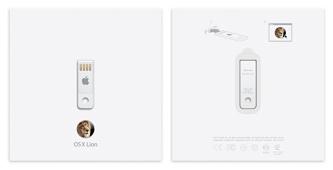 Clef USB Lion X Mac OS X Lion disponible sur clef USB