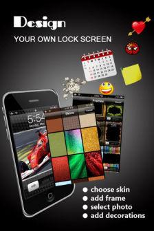 Lock screen designer [MÀJ] Les bons plans de lApp Store ce lundi 29 août 2011