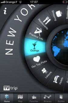 NewYork guide tv trip Les bons plans de lApp Store ce mardi 2 août 2011