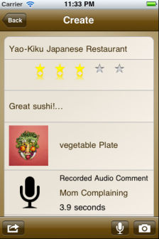Notable meals Les bons plans de lApp Store ce mercredi 17 août 2011 (Bonnes Apps)