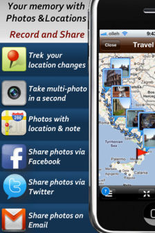 Phototrek Les bons plans de lApp Store ce samedi 6 août 2011