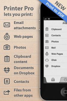Printer Pro [MÀJ] Les bons plans de lApp Store ce lundi 1er août 2011