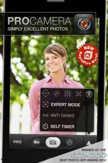 Procamera [MÀJ] Les bons plans de lApp Store ce lundi 29 août 2011