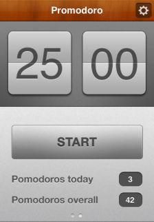 Promodoro Les bons plans de lApp Store ce dimanche 14 août 2011 (bonnes Apps)