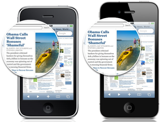 Retina display [Brevet] Et si liPhone 5 intégrait un pico projecteur ?
