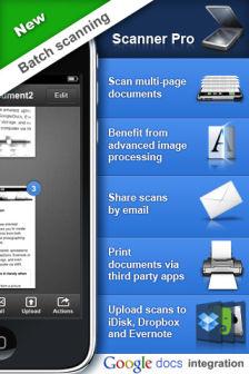 Scanner pro [MÀJ] Les bons plans de lApp Store ce lundi 1er août 2011