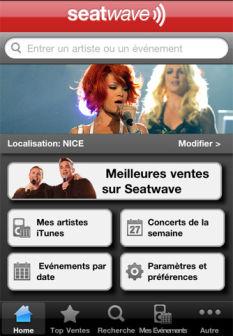 Seatwave ticker [MÀJ] Les bons plans de lApp Store ce jeudi 11 août 2011