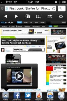 Skyfire web browser Les bons plans de lApp Store ce mardi 23 août 2011