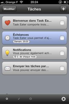 Test TaskEater 0001 [Test] Task Eater, un gestionnaire de tâches épuré et efficace (0,79€)