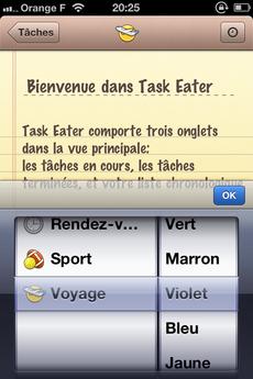 Test TaskEater 0003 [Test] Task Eater, un gestionnaire de tâches épuré et efficace (0,79€)