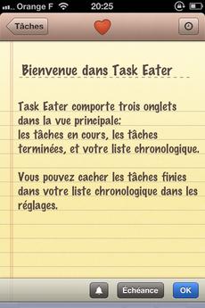 Test TaskEater 00051 [Test] Task Eater, un gestionnaire de tâches épuré et efficace (0,79€)