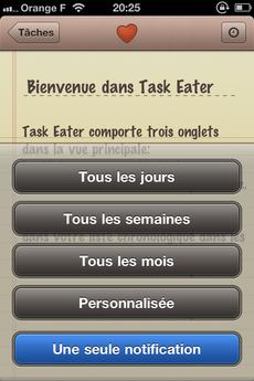 Test TaskEater 0006 [Test] Task Eater, un gestionnaire de tâches épuré et efficace (0,79€)