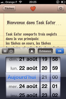 Test TaskEater 0007 [Test] Task Eater, un gestionnaire de tâches épuré et efficace (0,79€)