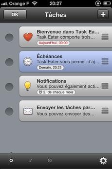 Test TaskEater 0014 [Test] Task Eater, un gestionnaire de tâches épuré et efficace (0,79€)