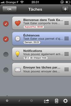 Test TaskEater 0020 [Test] Task Eater, un gestionnaire de tâches épuré et efficace (0,79€)