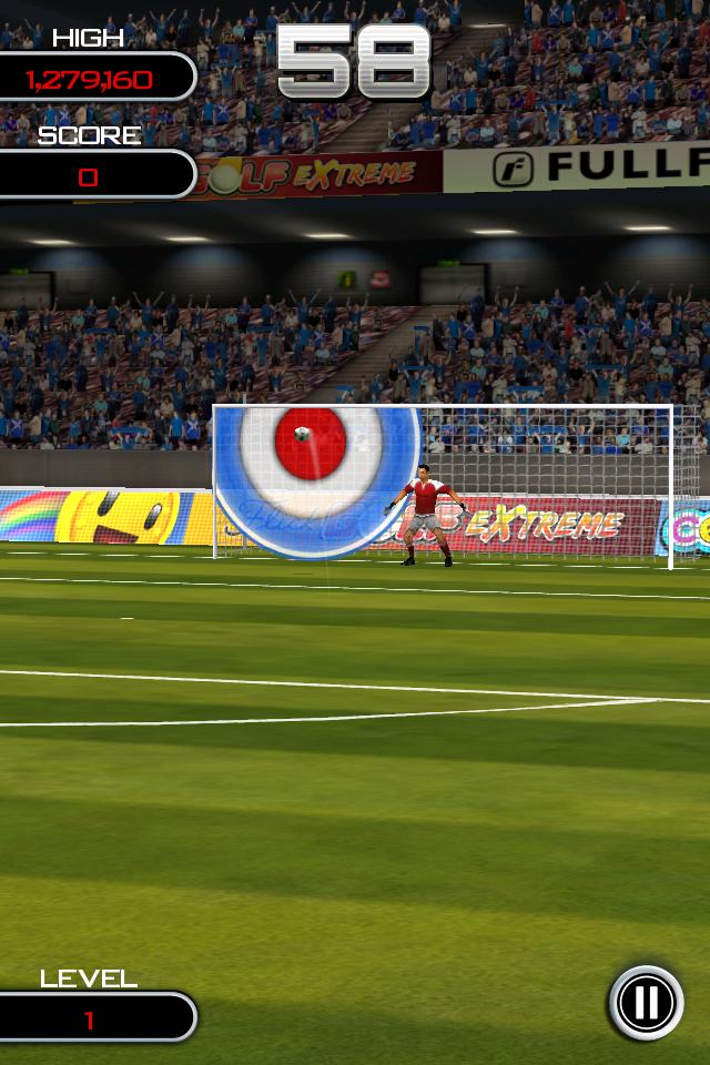 Test flicksoccer quickshot [Test] de Flicksoccer   Un mini jeu de football pour se divertir sur son iPhone (0,79€)