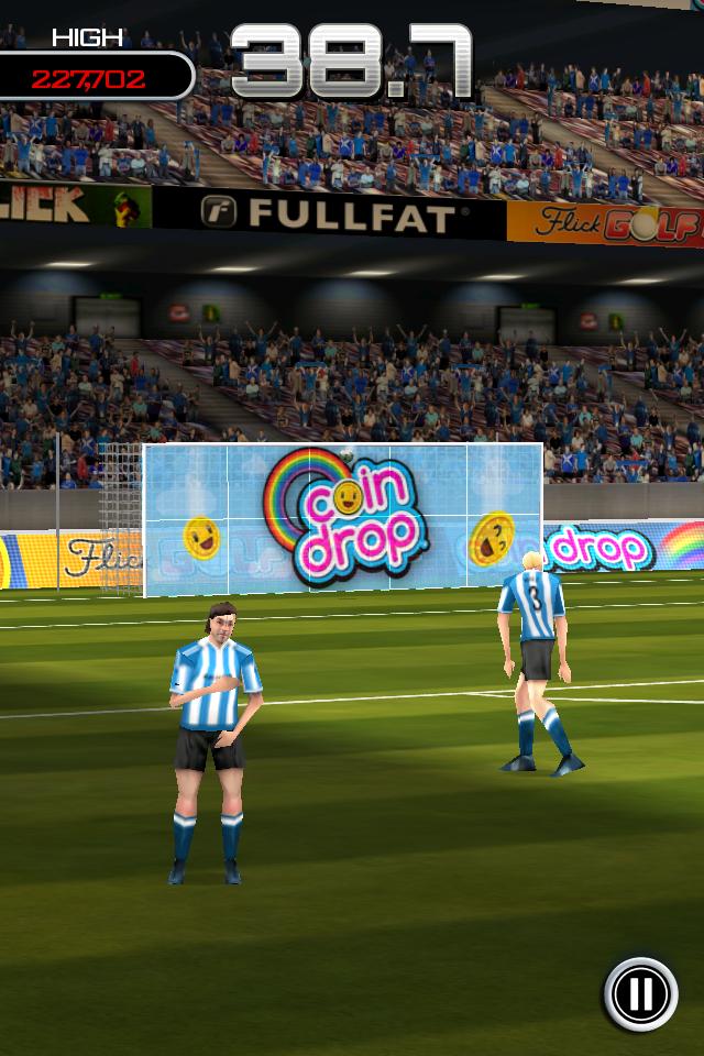 Test flicksoccer smash it1 [Test] de Flicksoccer   Un mini jeu de football pour se divertir sur son iPhone (0,79€)