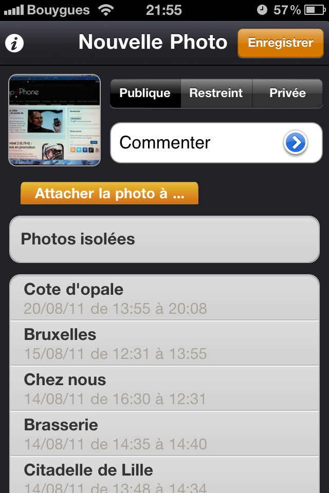 Test mobilytrip nouvelle photo