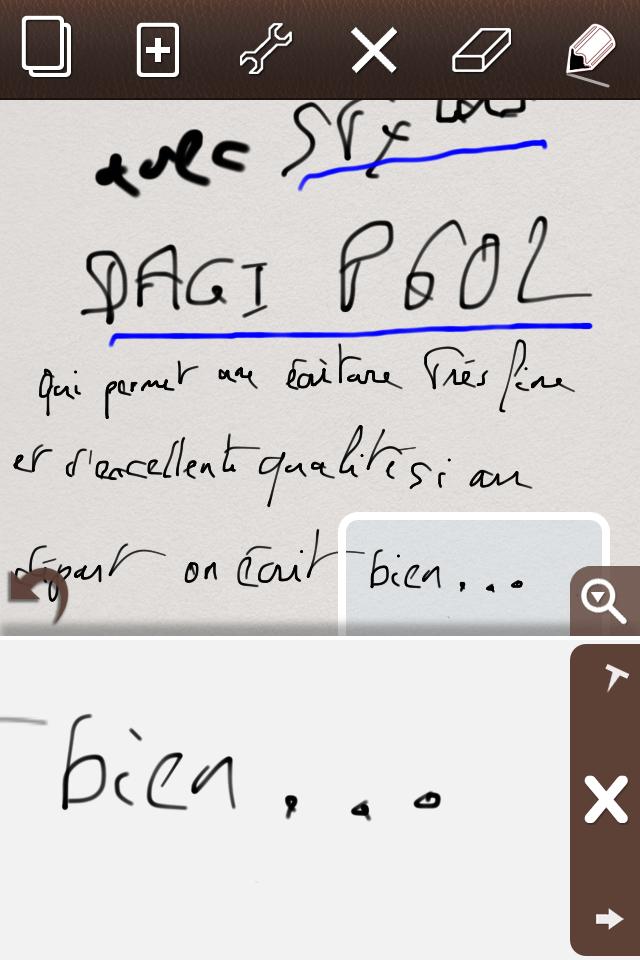 TestDAGIstylusP602001 [Test] du P602 de DAGI   Un stylet pour iPhone qui a la classe !