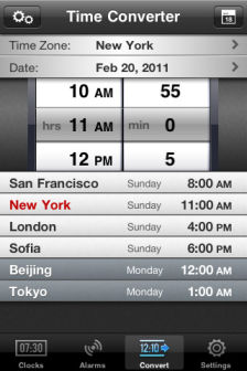 Theworld clock [MÀJ] Les bons plans de lApp Store ce lundi 29 août 2011