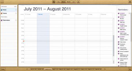 calendar iCloud.com disponible en version bêta   Les tarifs du Stockage dévoilés