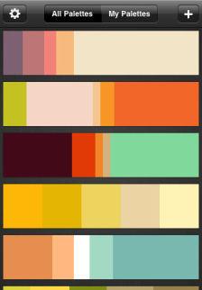 color schemer Les bons plans de lApp Store ce mercredi 24 août 2011
