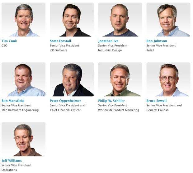 hauts dirigeant Apple Tim Cook remplace Steve Jobs et devient le nouveau CEO dApple
