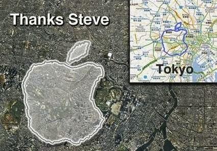 hommagestevejobs Insolite : Courir 21Km pour rendre hommage à Apple et à Steve Jobs !