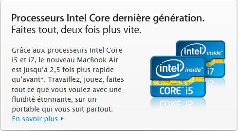 i7 Apple.com, clins dœil et erreurs involontaires