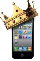 iCouronne1 Apple dépasse Nokia et devient le 1er vendeur de smartphones au monde